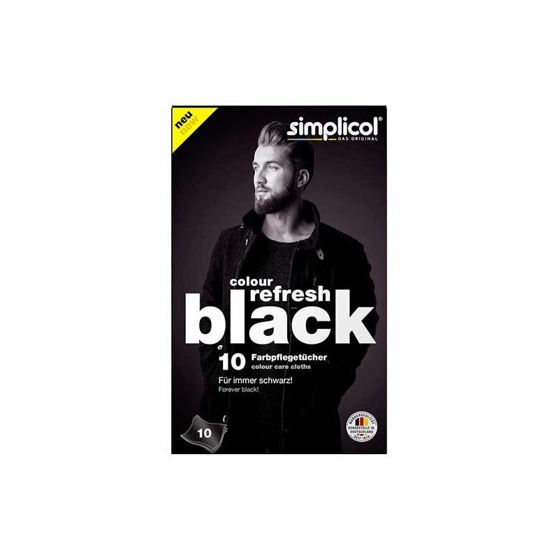 Simplicol - Chusteczki barwiące do czerni 10 szt