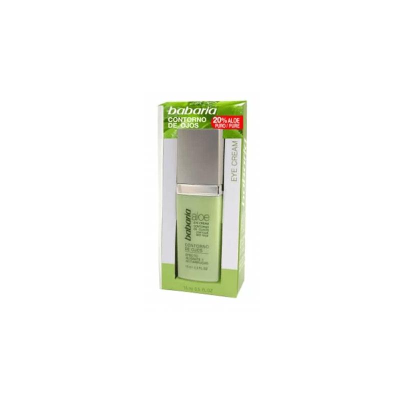 Babaria - Krem aloesowy pod oczy przeciwzmarszczkowy 15 ml