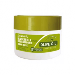 Babaria - Maska ułatwiająca rozczesywanie włosów na bazie 100% oliwy z oliwek do każdego rodzaju włosów - 250 ml