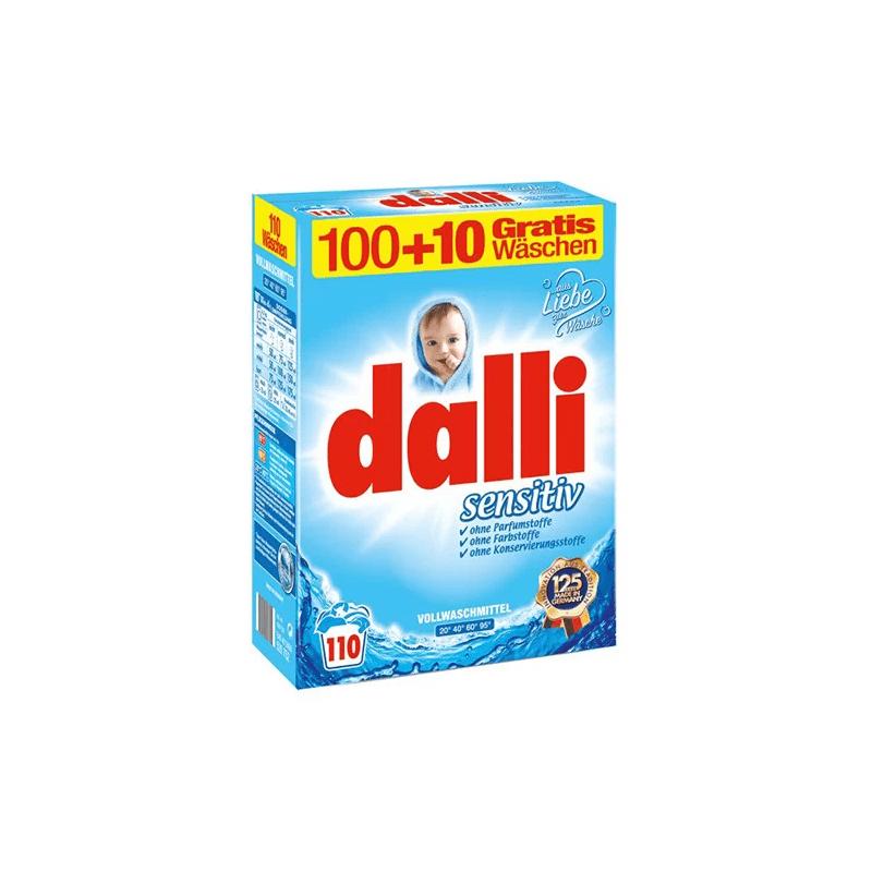 Dalli - Proszek do prania sensitive 7,15 kg