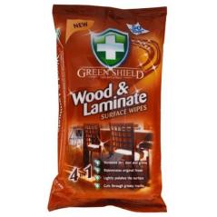 Green Shield 70 Szt Chusteczki do drewna i mebli