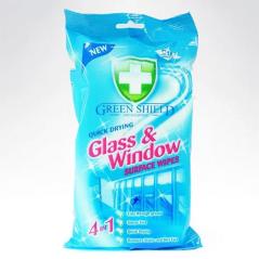 Green Shield 70 Szt Chusteczki do szkła