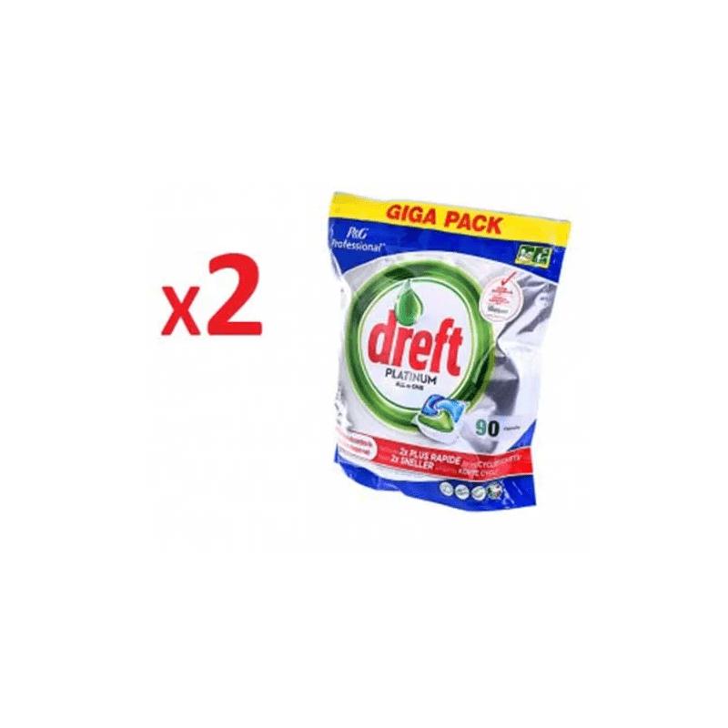 Zestaw Dreft Platinium 90szt - dwa opakowania