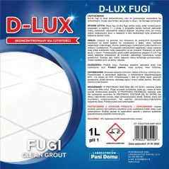 D-LUX płyn do czyszczenia fug 1 L