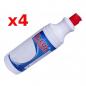 D-LUX płyn do czyszczenia fug 1 L  - 4 butelki