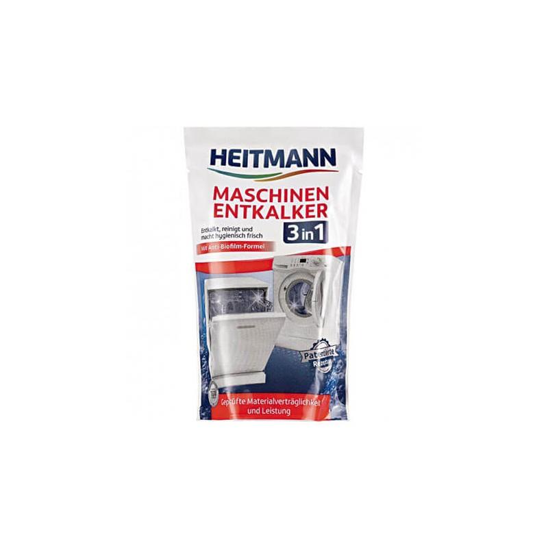 Heitmann - Odkamieniacz do pralek i zmywarek 3w1 175 g.