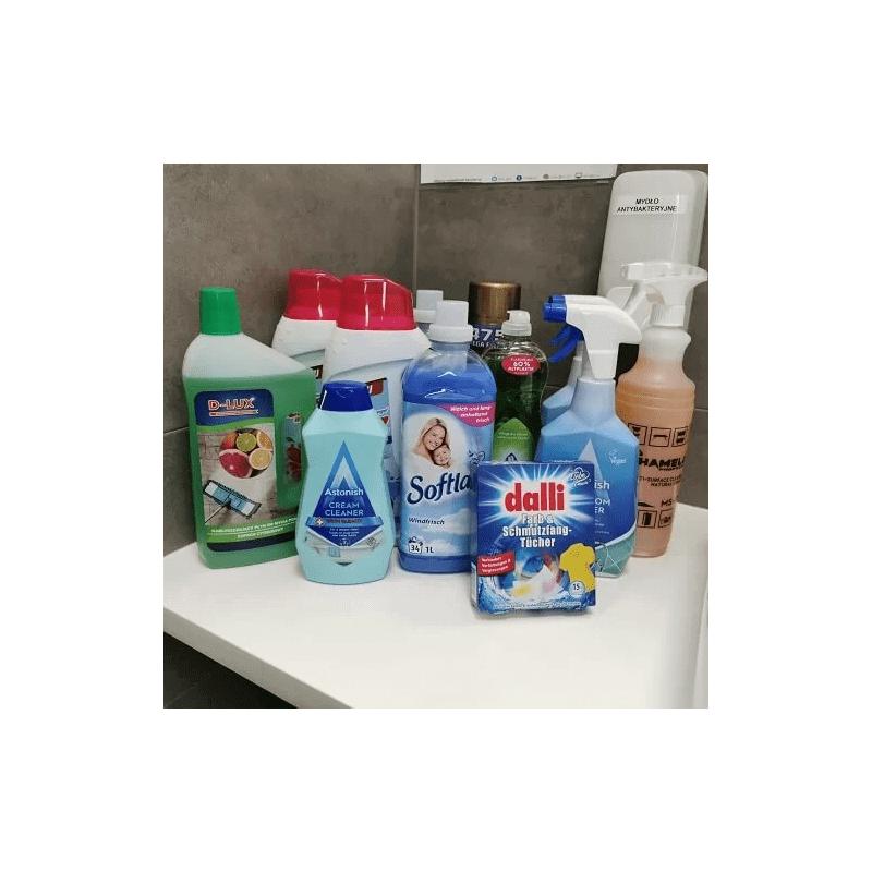 Zestaw startowy pranie i sprzątanie
