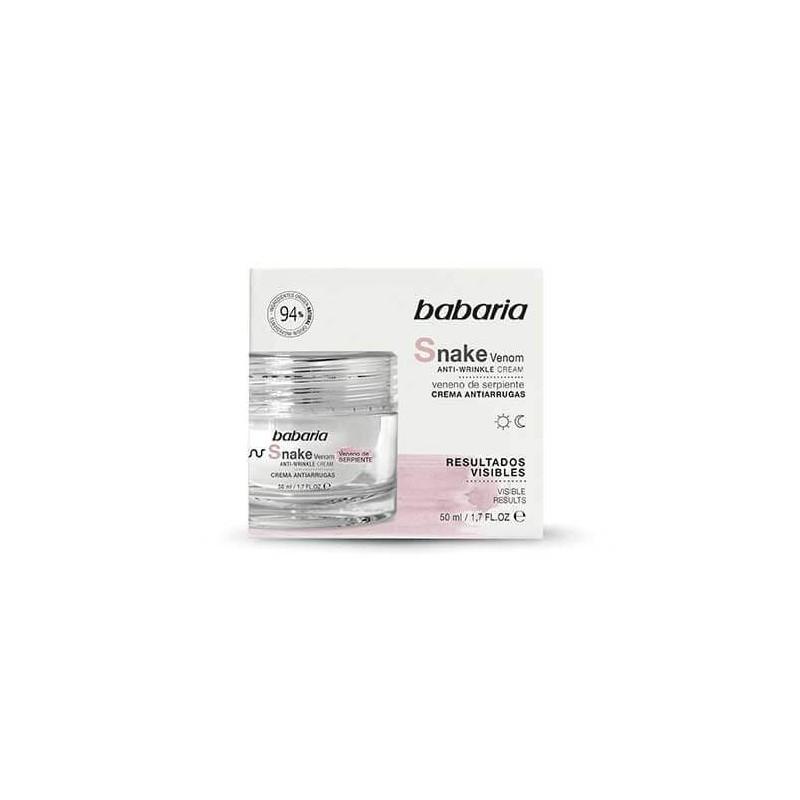 Babaria – Snake Venom Anti Wrinkle Cream 50ml