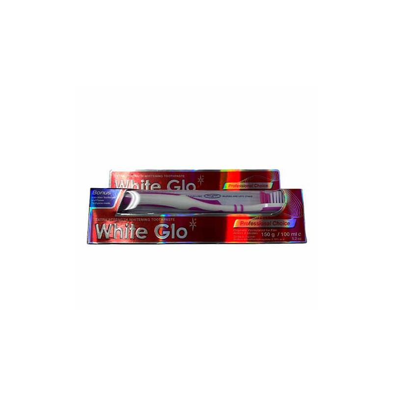 White Glo - Professional Choice pasta do zębów 100ml + szczoteczka