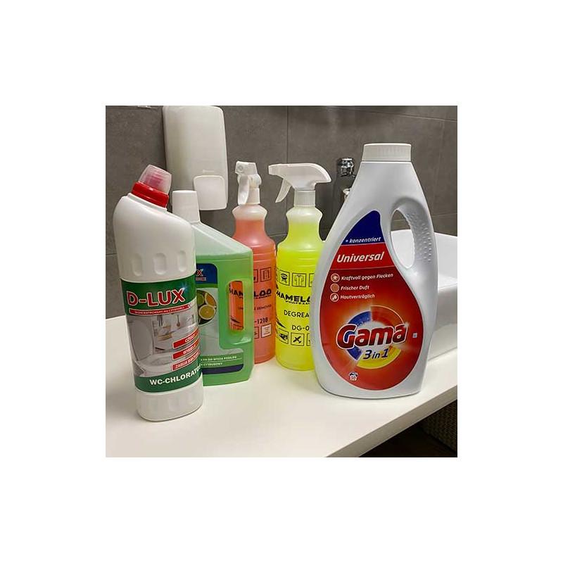 Zestaw codzienny + Żel Vizir(Gama) na 50 prań i z darmową wysyłka