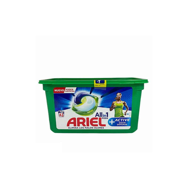 Ariel - Kapsułki 3in1  do prania Active 43 szt