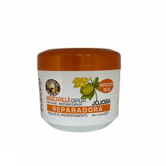 Babaria - Maska odżywczo - regenerująca do włosów z aloesem, olejkiem arganowym i filtrem UV - 400 ml
