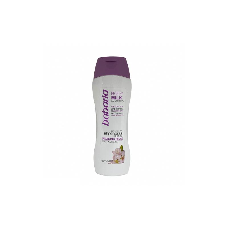Babaria - Mleczko z olejkiem ze słodkich migdałów 500 ml