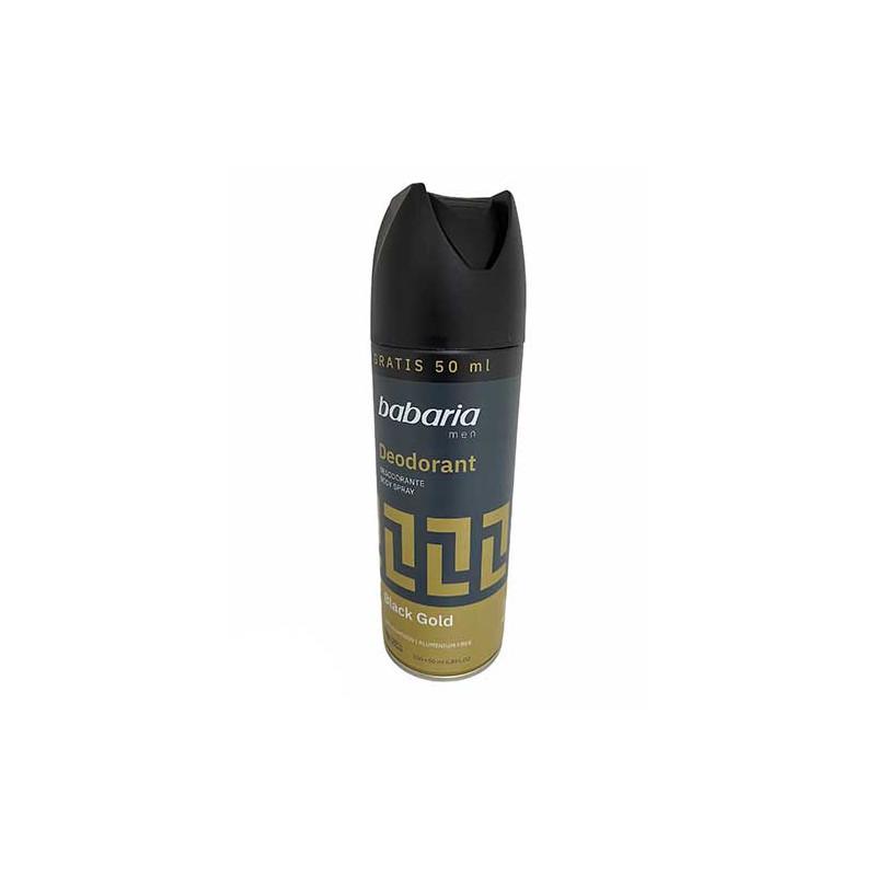 Babaria -  Dezodorant w sprayu dla mężczyzn Black Gold