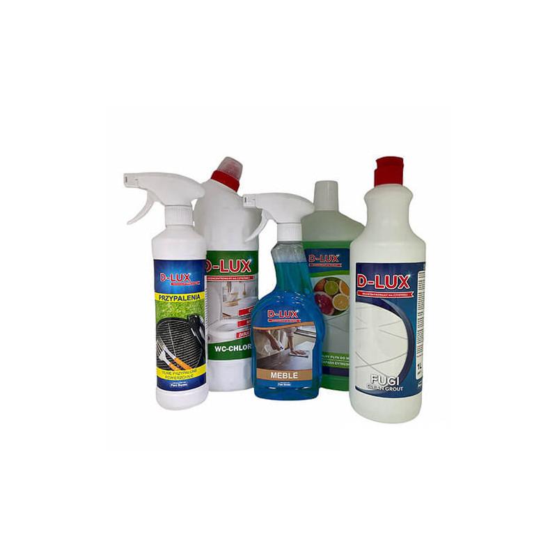 Zestaw podręczny 1 + D-LUX Płyn do czyszczenia fug z Darmową wysyłką